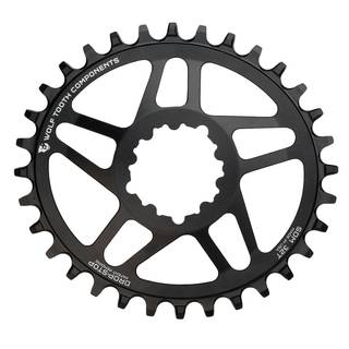 Wolftooth 5-Spoke Spiderless XX1 elliptical/oval Kettenblätter 1x10 1x11 1x12 speed SRAM Boost