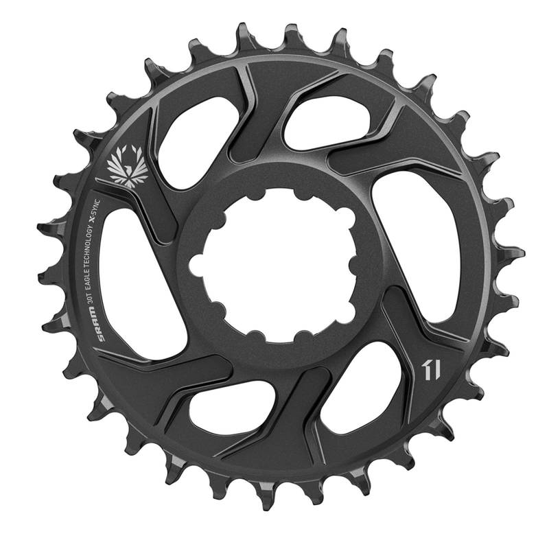 SRAM Kettenblatt X-Sync Eagle;38T, Direct Mount, Aluminium, gold,;12-fach, 3mm Offset (Boost)