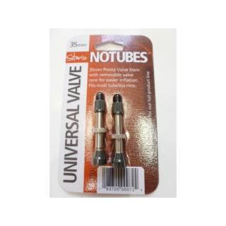 NoTubes Universal Tubelessventile 35mm Set 2 Stück
