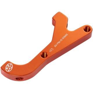 REVERSE Bremsscheibenadapter IS-PM 200 Avid HR (Orange)