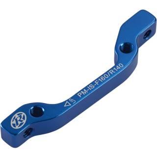 REVERSE Bremsscheibenadapter IS-PM 160 VR+140 HR (Blau)