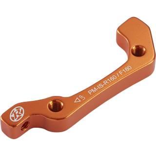 REVERSE Bremsscheibenadapter IS-PM 180 VR+160 HR (Orange)