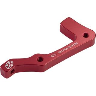 REVERSE Bremsscheibenadapter IS-PM 180 Shimano HR (Rot)