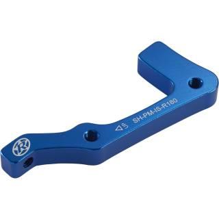 REVERSE Bremsscheibenadapter IS-PM 180 Shimano HR (Blau)