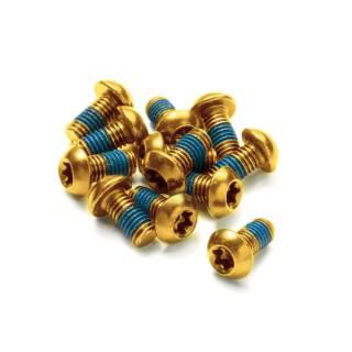 REVERSE Bremsscheiben-Schraubenset - 12 Stk. (Gold)