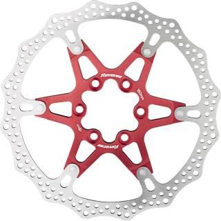 REVERSE Bremsscheibe Aluminium/Stahl Ø160mm (Rot)