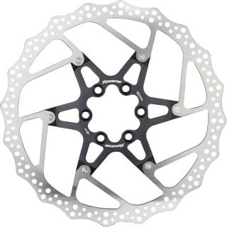 REVERSE Bremsscheibe Aluminium/Stahl Ø180mm (Schwarz)
