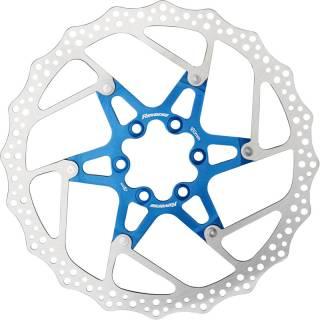 REVERSE Bremsscheibe Aluminium/Stahl Ø180mm (Blau)