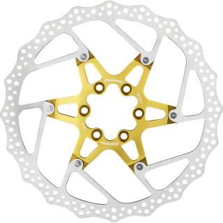 REVERSE Bremsscheibe Aluminium/Stahl Ø180mm (Gold)