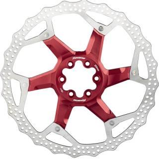 REVERSE Bremsscheibe Aluminium/Stahl Ø203mm (Rot)