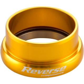 "REVERSE Steuersatz Twister Lower Cup 1.5"" (EC49|30+40) Gold (Ahead)"