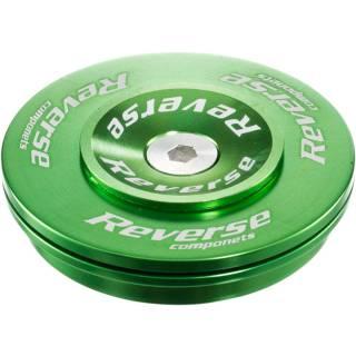 REVERSE Steuersatz Twister Top Cup 1.5-1 1/8 (ZS49|28,6) Grün