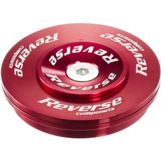 REVERSE Steuersatz Twister Top Cup 1.5-1 1/8 (ZS49|28,6) Rot
