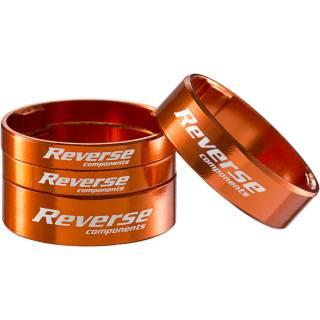 "REVERSE Spacer Set Ultra-Light 1 1/8"" (Orange)"