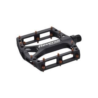 REVERSE Pedal Black ONE (Schwarz/Orange)