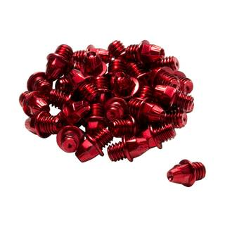 24xREVERSE Pedal Pins M4 (Rot)