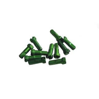 Sapim Hexagonal Aluminium Speichennippel 14mm 100 Stück grün