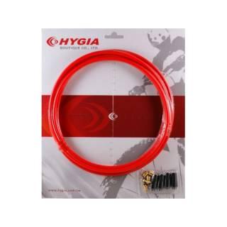 Hygia Bremsleitungskit verstärkter Kunststoff 5,5mm rot