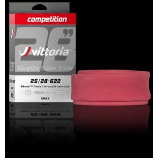 Schlauch Vittoria Competition Latex 28 (25/28-622) SV 48mm
