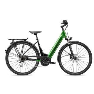 Breezer POWERTRIP EVO 2.3+ LS 2021 50cm Black/ Forest Green