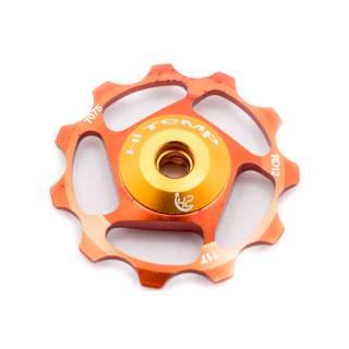HiTeMP42 Schaltröllchen ca. 9,4g je Röllchen 11 Zähne 2er Set orange