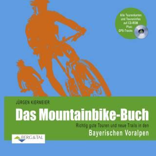 Mountainbike-Buch Kiermeier Bayerische Voralpen mit GPS CD-Rom