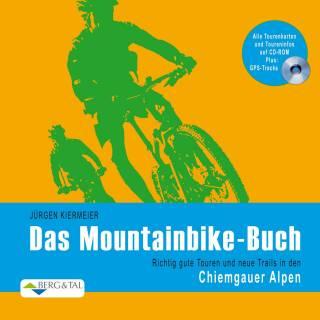 Mountainbike-Buch Kiermeier Chiemgauer Alpen mit GPS CD-Rom