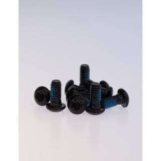 IceStop Bremsscheibenschrauben M5x10mm Torx 12 Stück schwarz