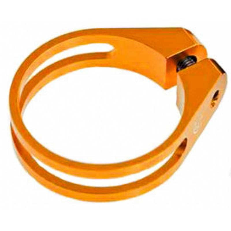 HiTeMP42 Sattelklemme Crimper ultralight 34,9mm orange