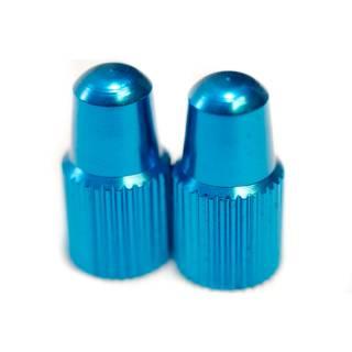 HiTeMP42 Ventilkappen Sclaverand 2er Set blau glänzend