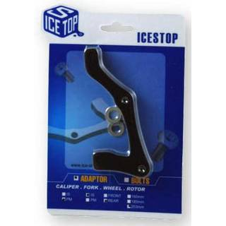 IceStop Scheibenbremsen Adapter PM auf IS 203mm vorne oder 180mm hinten