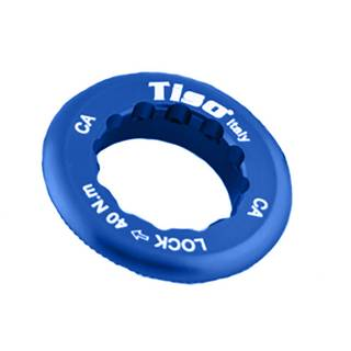 TISO Kassettenabschlussring Aluminium Campagnolo 12T-13T Zähne blau