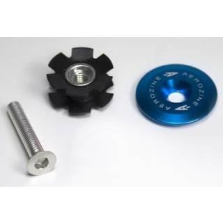 Aerozine Headset Kappe 7,5g Set mit Kralle und Aluschraube ohne Logo blau