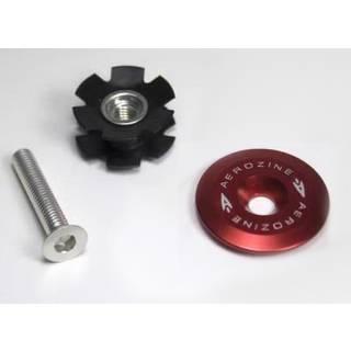 Aerozine Headset Kappe 7,5g Set mit Kralle und Aluschraube ohne Logo rot