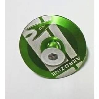 Aerozine Headset Kappe 7,5g Set mit Kralle und Aluschraube mit Logo grün