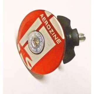 Aerozine Headset Kappe 7,5g Set mit Kralle und Aluschraube mit Logo orange